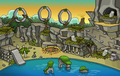 Prehistoric Party 2014 Ptero Town