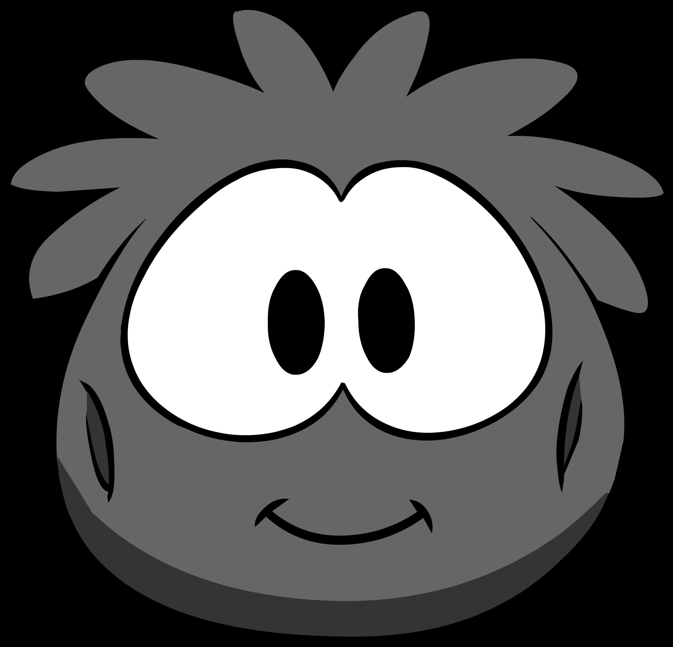 Disfraz de Puffle Negro