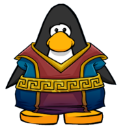 Ancient Robes from a Player Card