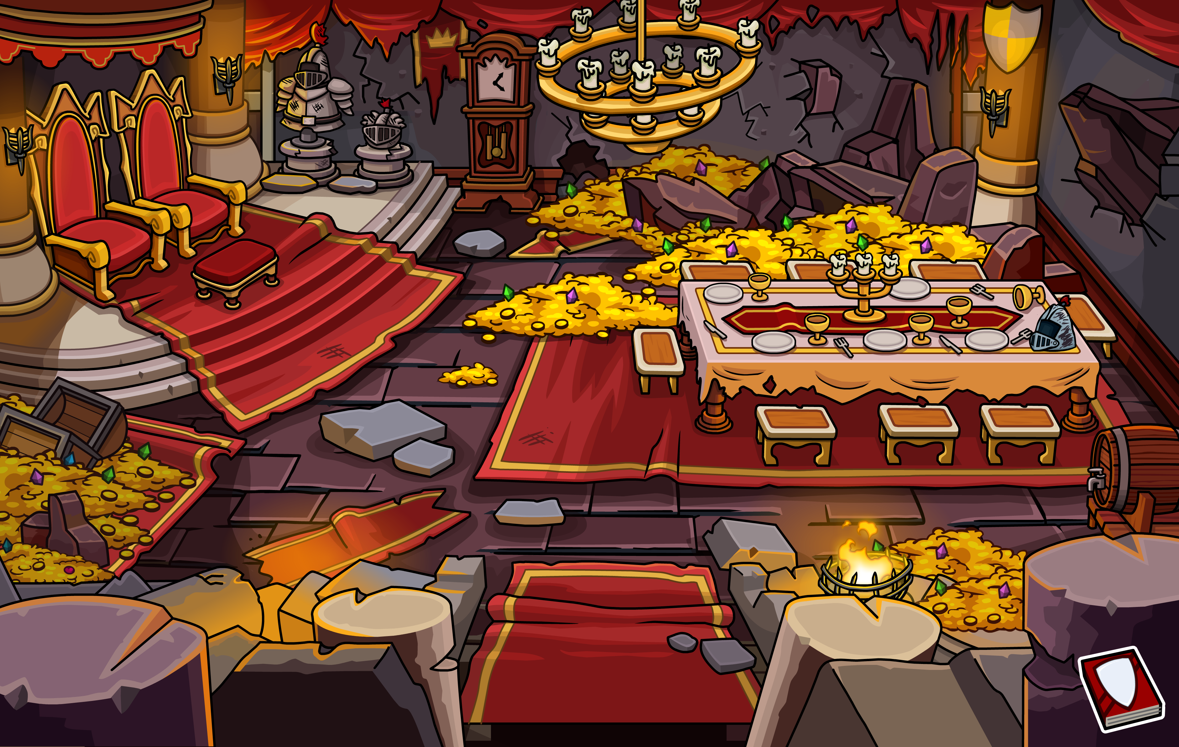 Dining Hall (Medieval Party 2013)