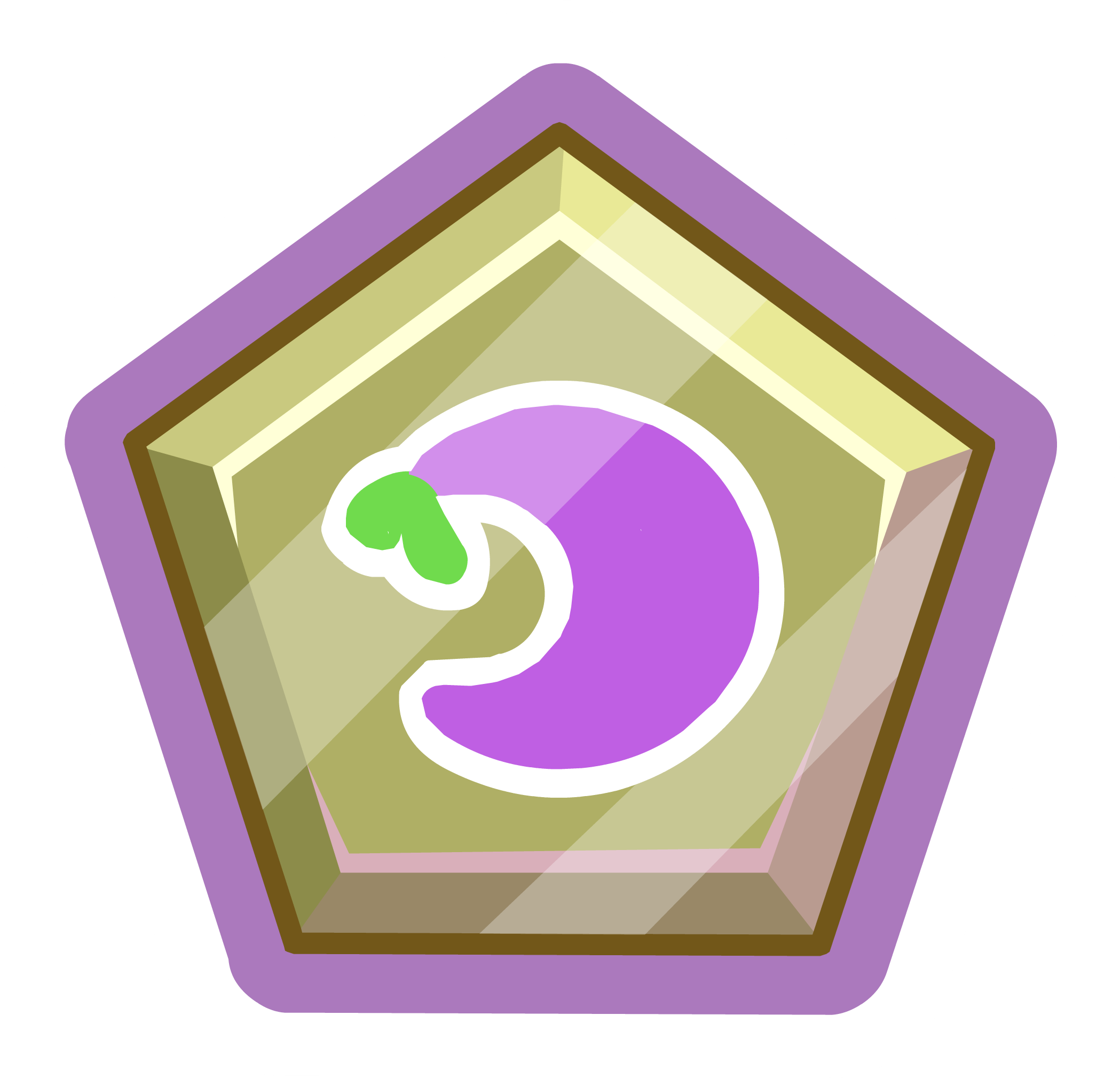 Purple O'berry Pin