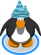 Ice party hat in-game