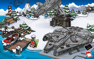 Star Wars Takeover aftermath Dock