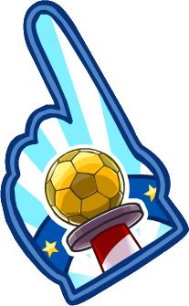 Mano de Gomaespuma Copa CP