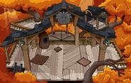 Black Puffle Tree House sprite