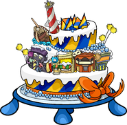 3rd Year Party Hat location