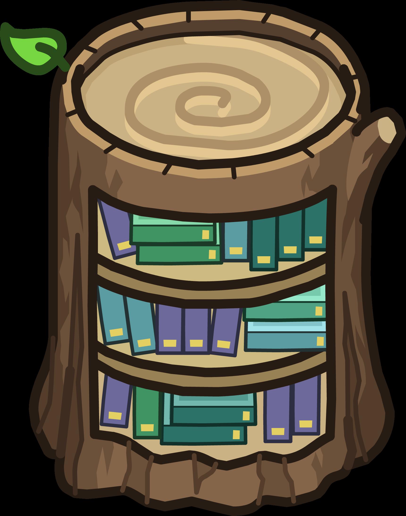 Biblioteca de Tocón de Árbol