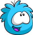 Blue PuffleHappy2