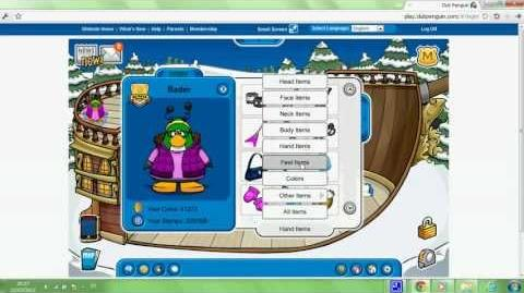 Club penguin - how to look like happy 77