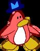 Doodle Dimension penguin Peach hat
