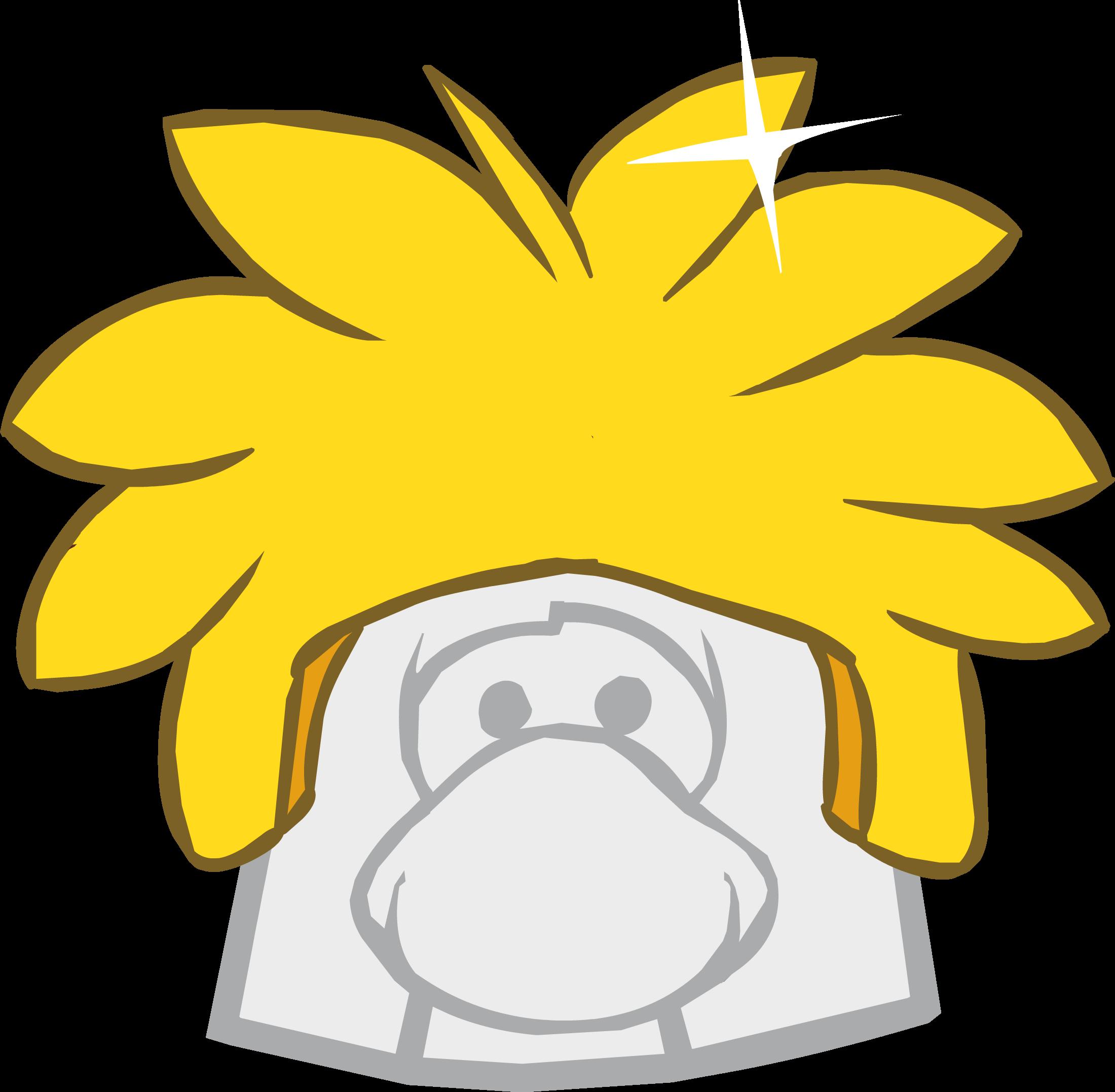 Gorro de Puffle Dorado