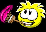 Yellow PufflePainting2