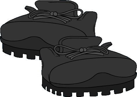 Botas de Excursión Negras