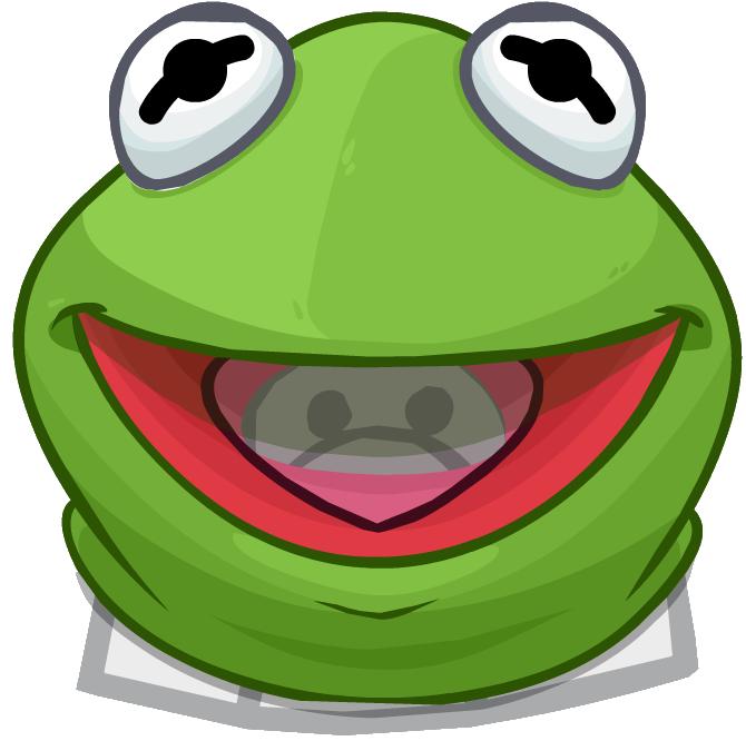 Cabeza de Kermit, la Rana
