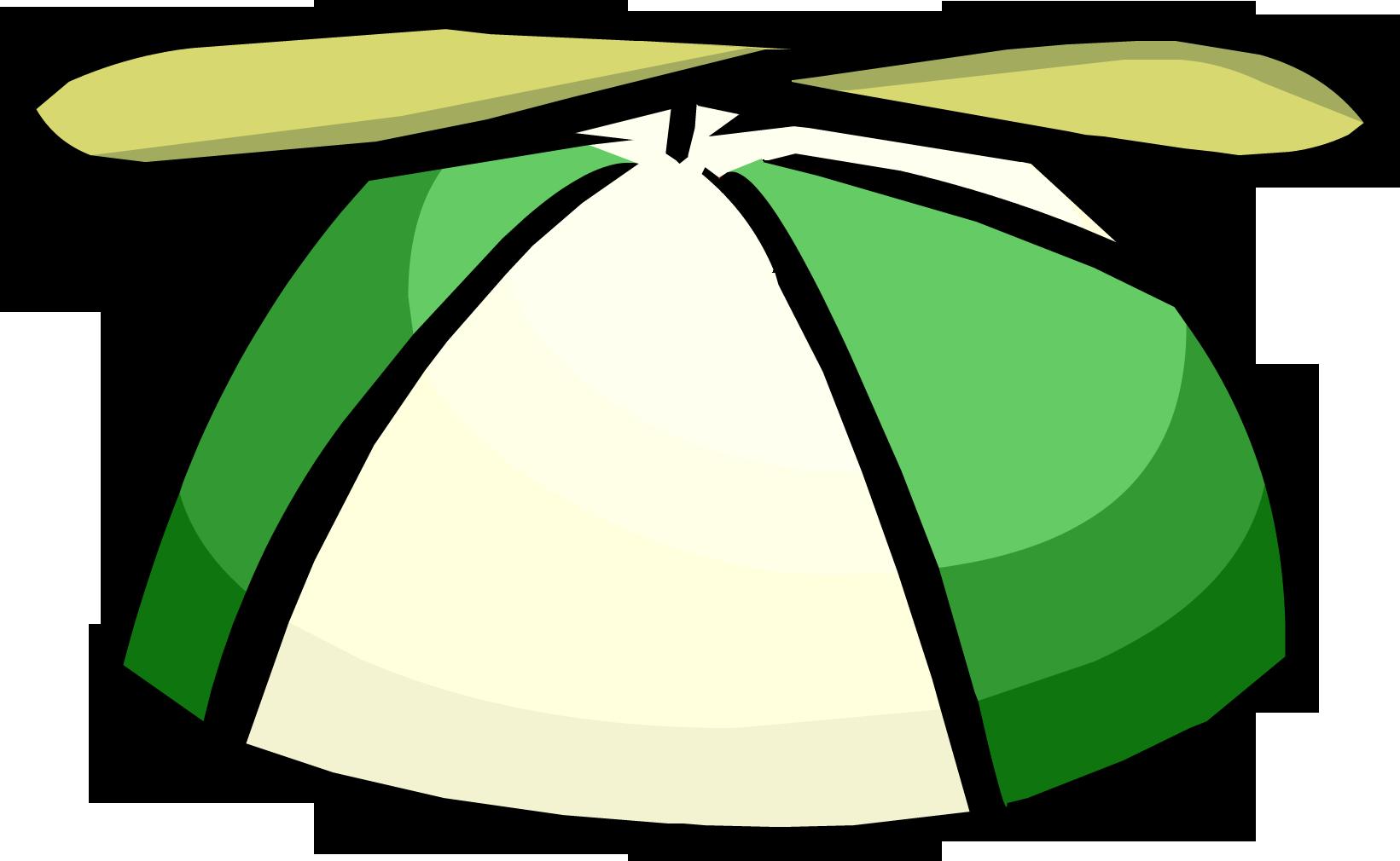 Gorra con Hélice Verde