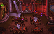 Halloween Party 2014 Puffle Hotel Dining Room