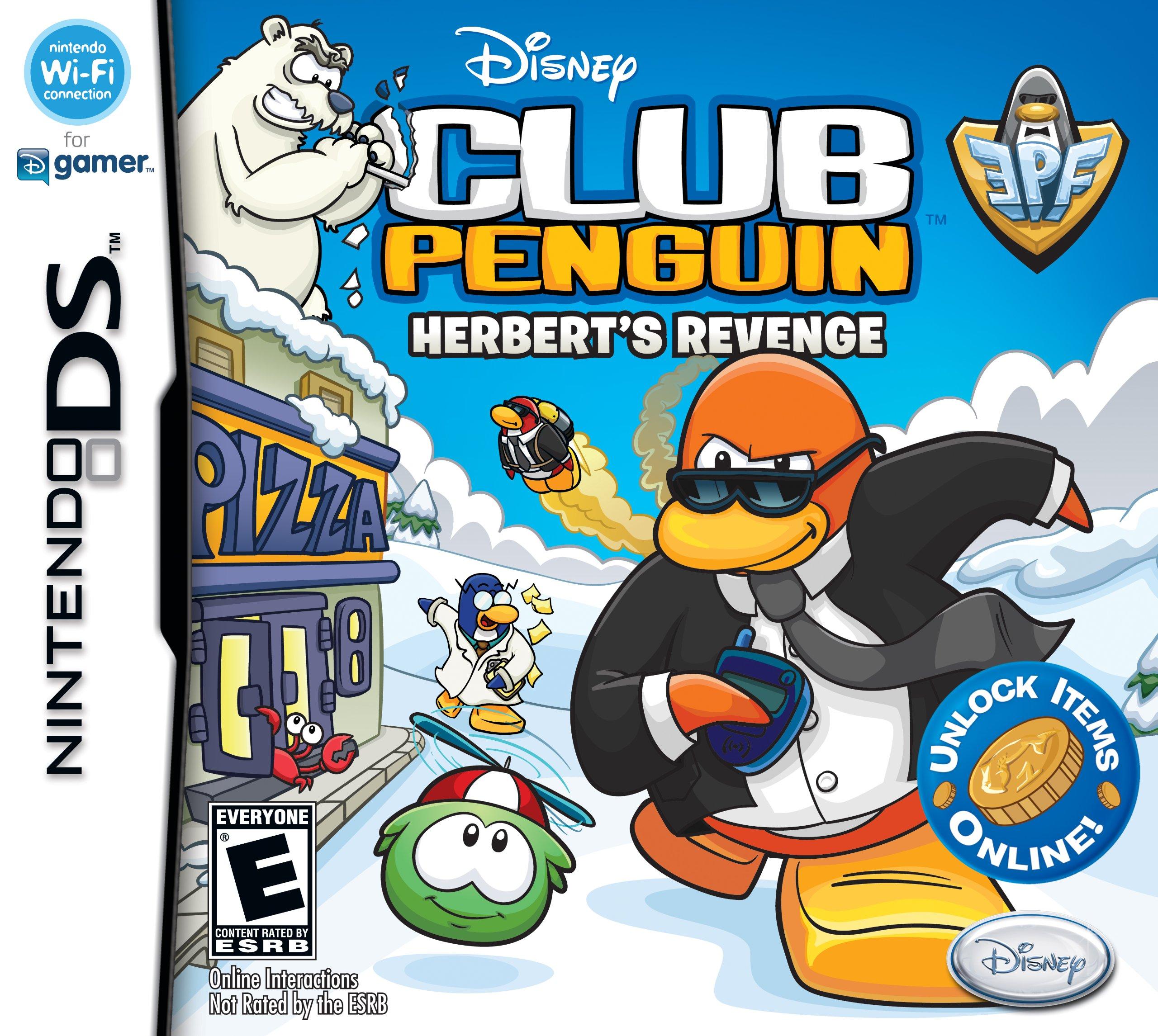 Club Penguin: Elite Penguin Force: La Venganza de Herbert
