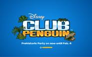 Prehistoric Party 2014 logo screen