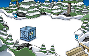 Puffle Party 2010 construction Forest