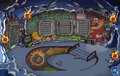 Puffle Party 2013 Underground Pool light off