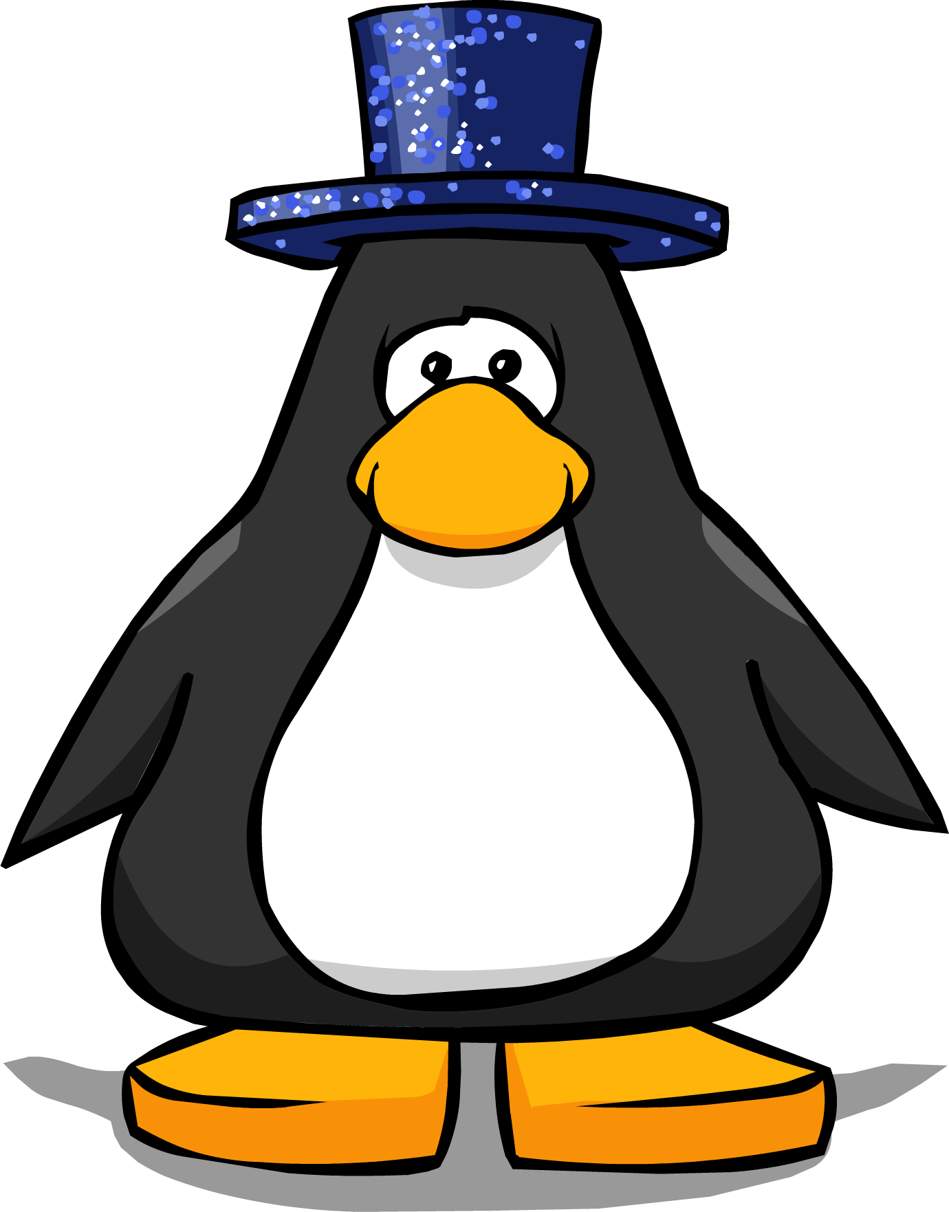Dazzling Blue Top Hat