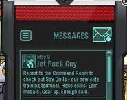 Message Spy Drills