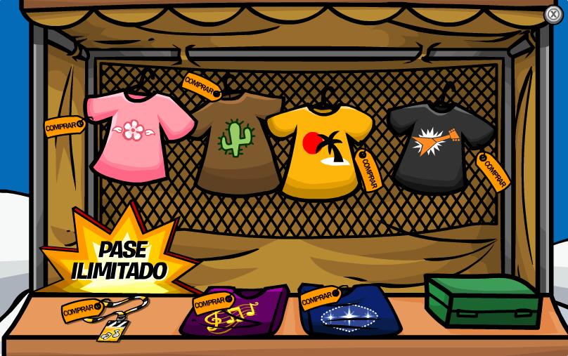 Catálogo de Camisetas Rockeras