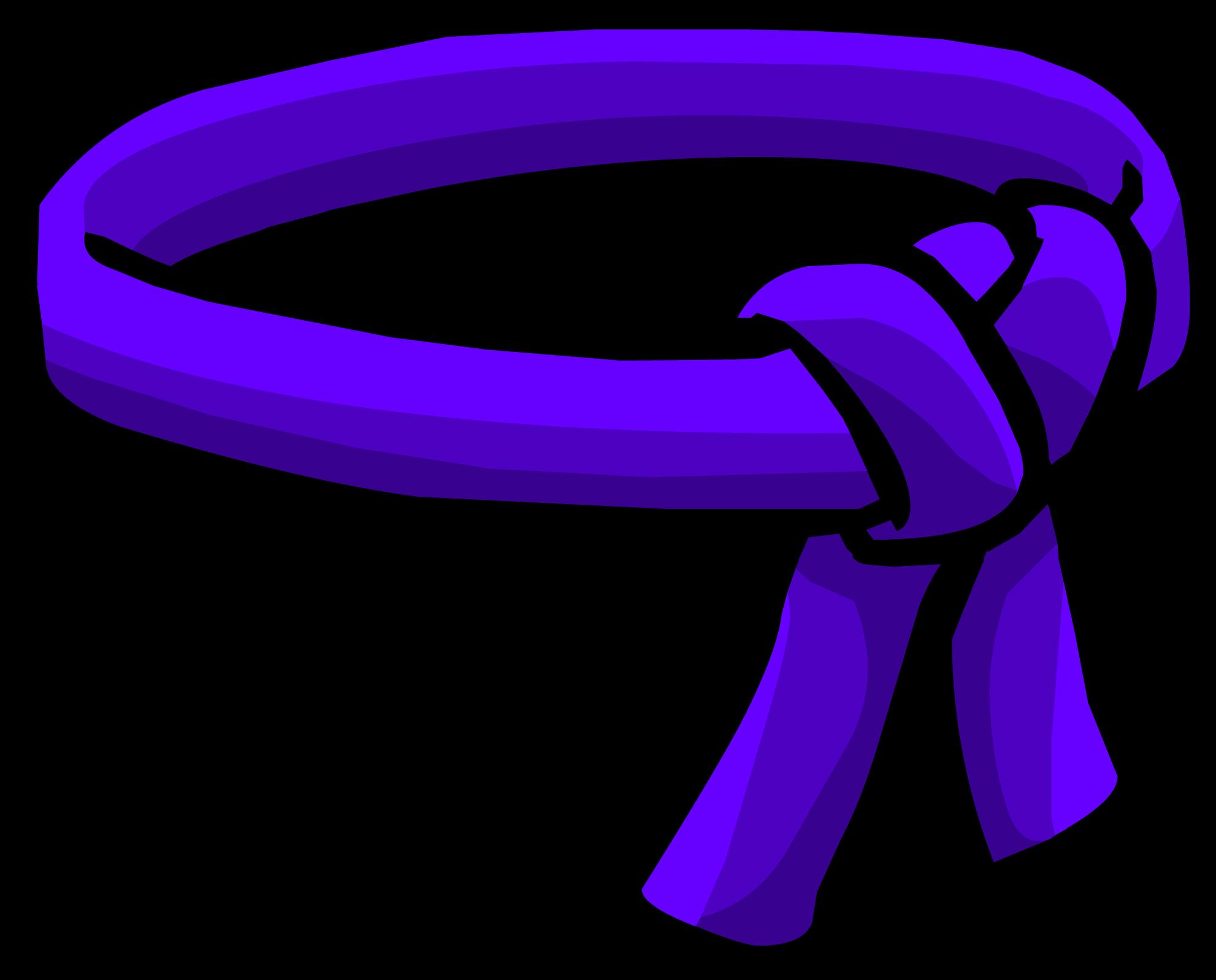 Cinturón de Ninja Violeta