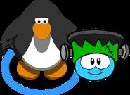 Puffle Hats Franken Hat ID 39 in game