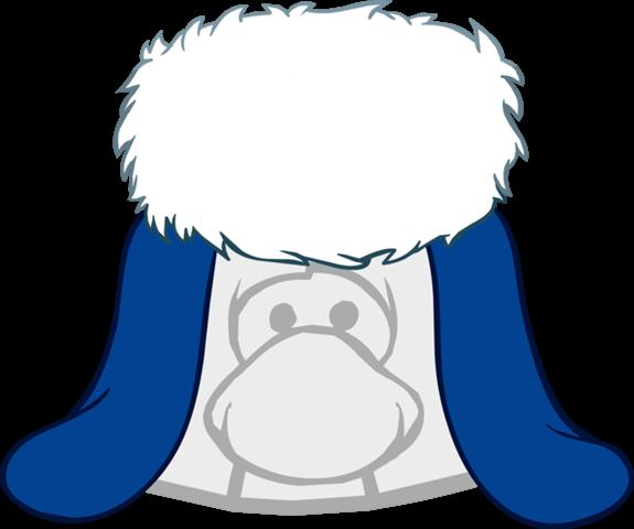 Sombrero Azul Navideño