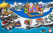 Club Penguin Island Party Dock 2