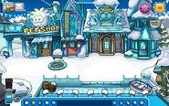 Plaza congelada