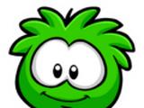 Pin del Puffle Verde