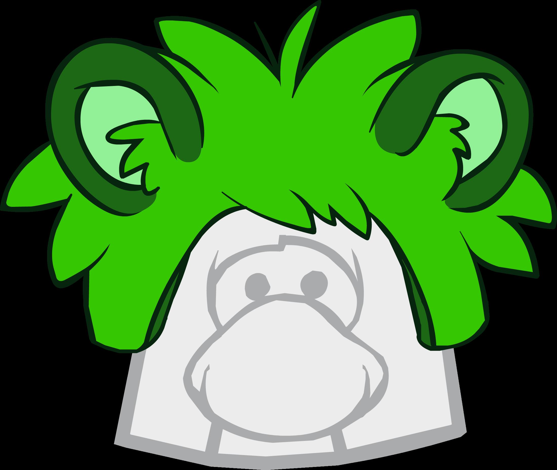 Gorro de Puffle Mapache
