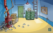 Operation Puffle construction Boiler Room