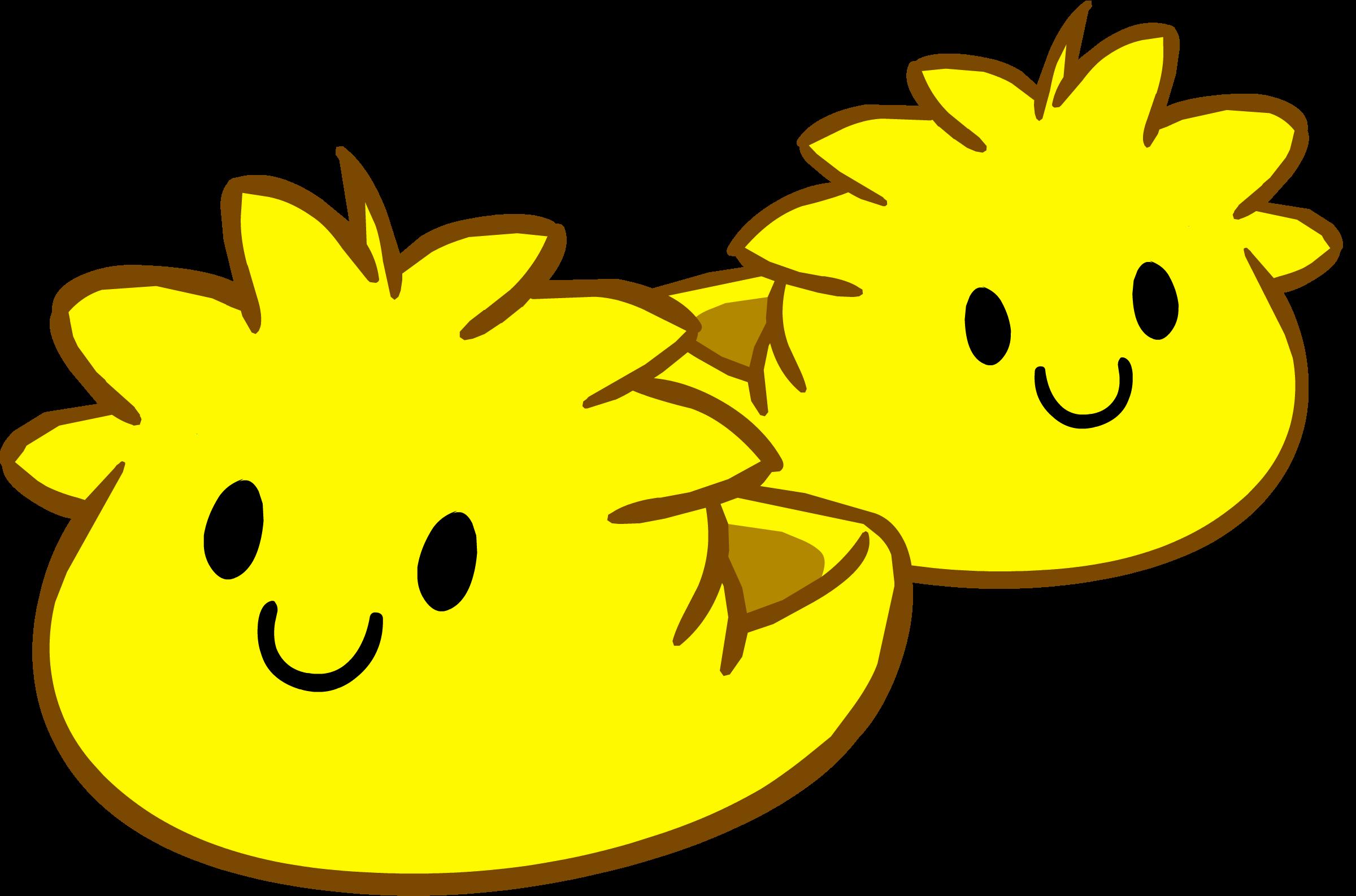 Pantuflas de Puffle Amarillo