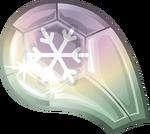 Amulet Snow Gem Clear