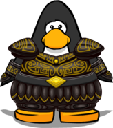 Regal Armor from a Player Card
