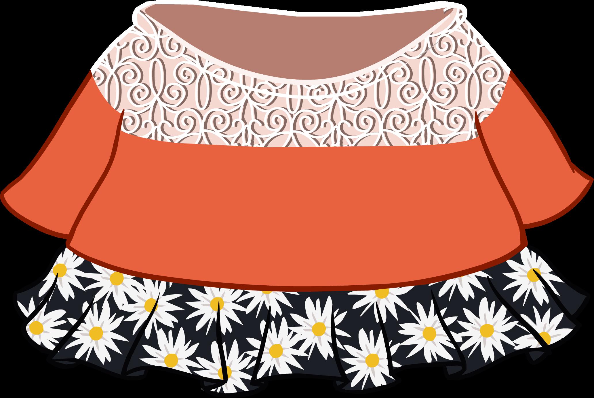 Autumn Floral Outfit