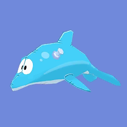 Inflatable Dolphin (ID 216)