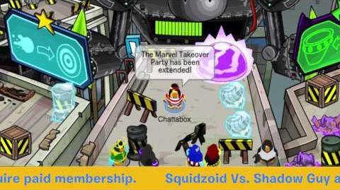 Marvel Super Hero Takeover Breaking News! Official Club Penguin