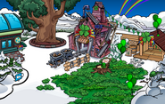 Puffle Party 2012 Mine Shack