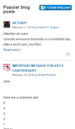 Popular cake