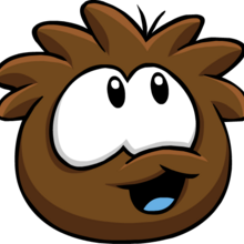 Brown PuffleLookingUp.png