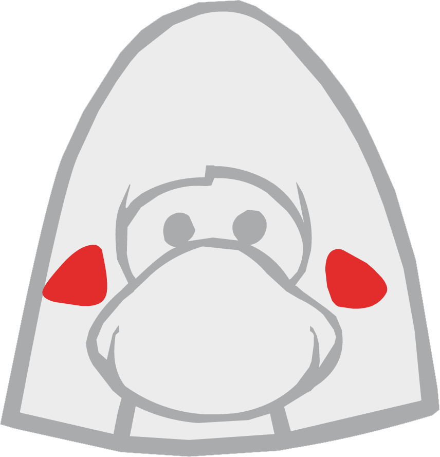 Rostro de Pingüino Sorpresa
