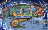 Puffle Party 2013 Underground Pool