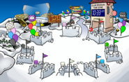 Puffle Party 2010 Snow Forts