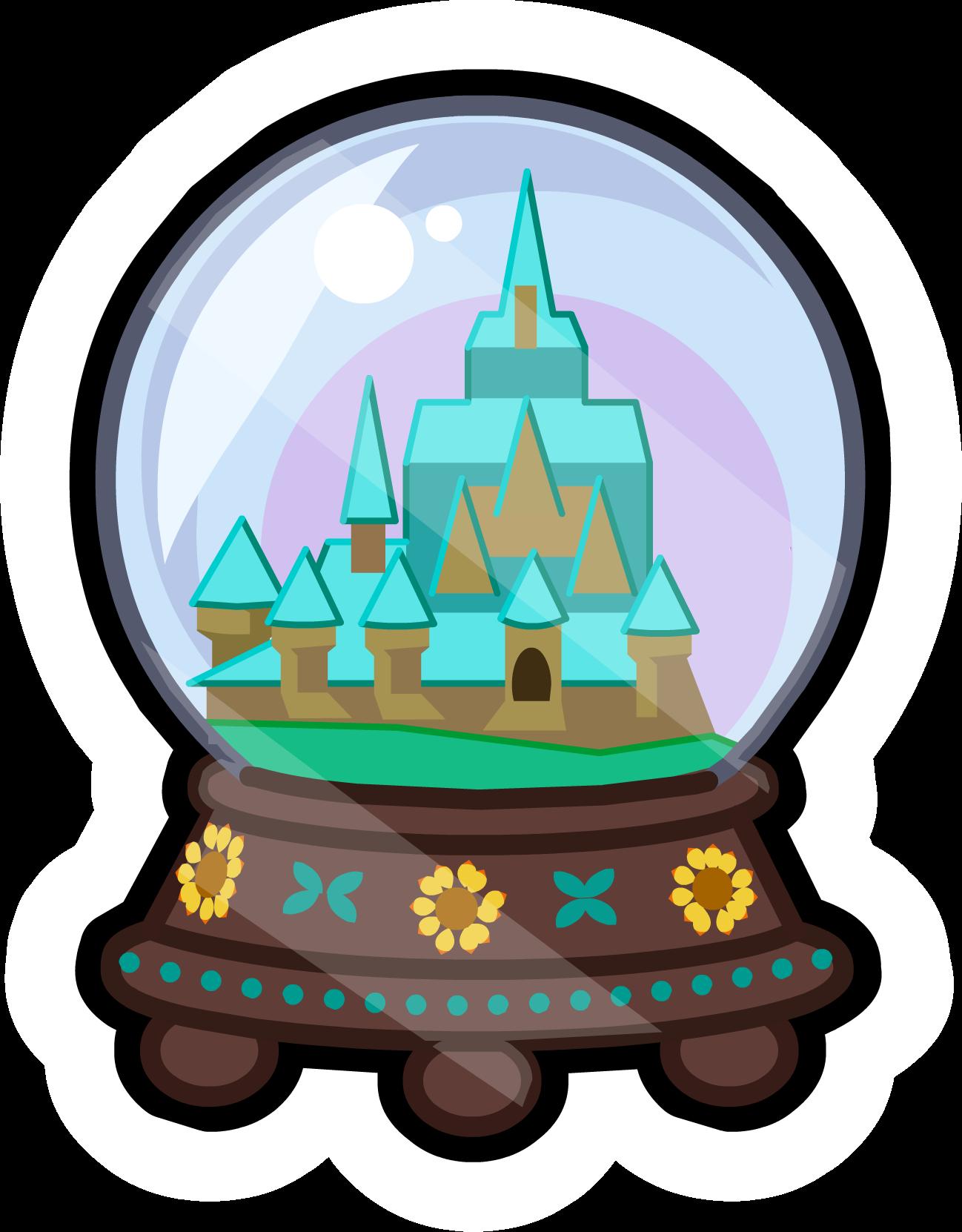 Arendelle Globe Pin