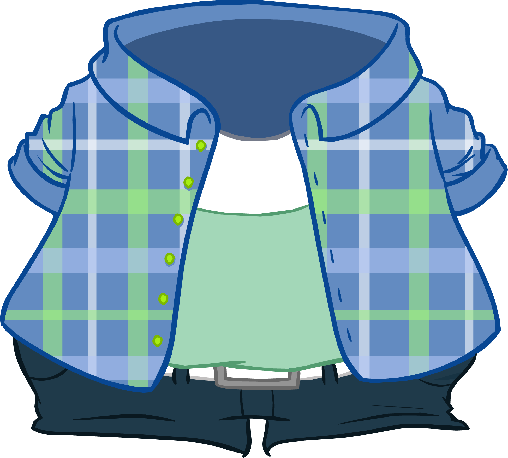 Camisa a Cuadros Celeste
