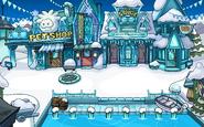 Frozen Party Plaza frozen